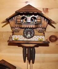 Genuine German Black Forest Chalet Cuckoo Clock ~ Working ~