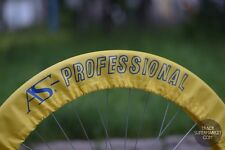A.S. Professional Keirin Wheel Covers -  NJS Track Bicycle Pista Rim Tire Cover