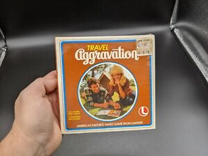 Vintage 1980 Travel Aggravation Game #8317 Lakeside Industries NEW