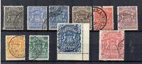 Rhodesia 1892-93 values to £2 FU CDS