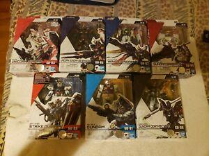Gundam Universe Action Figure Lot