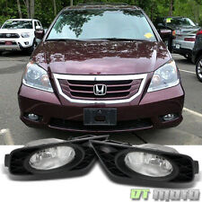 For 2008-2010 Honda Odyssey Bumper Driving Fog Lights Lamp w/ Switch Left+Right