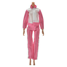 2 Pcs/Set Handmade Sports Doll's Clothes Coat Pant For Barbies Baby Gifts US.