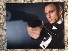 Daniel Craig James Bond Autograph SIGNED 8x10 PHOTO GA COA