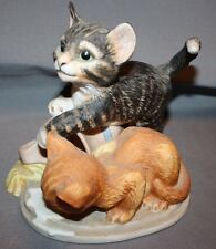 "Franklin Mint Cats ""Mischief"" by Gail Ferretti"