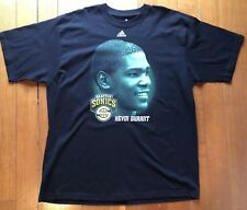 Kevin Durant Seattle Sonics NBA Supersonics Adidas 2008-2009 Rare Shirt Size XL