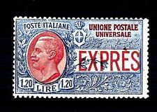 ITALIA - Regno - Espresso - 1922 - Effigie di Vittorio Emanuele 3° - Non emesso