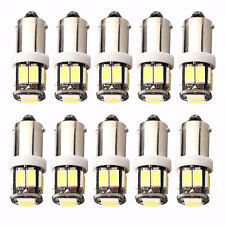 10Pcs 12V T11 T4W H6W 1895 1445 BA9S 5630 10SMD Car Led Interior LED Light Bulb
