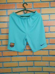 Barcelona Shorts Size Boys XL 13-15 y Kids Youth Football Soccer Nike 847389-483