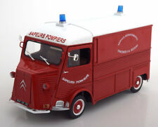1:18 Solido Citroen Type HY Fire Engine 1969 Red/White
