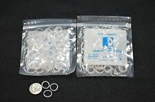 "CLEAR TEETH GAP BANDS -ORTHODONTIC BANDS -3/8"" HEAVY Orthofil -  FREE SHIPPING"