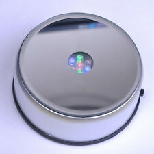 NEW Rotating 7 LED Color Light Stand Base - Display Crystal 3D Glass AC power