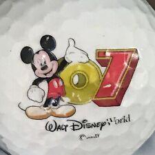 Walt Disney World 2007 Logo Golf Ball (G-12-7)