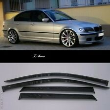 For BMW 3 E46 Sd 5d 1998-2005 Side Window Visors Sun Guard Vent Deflectors