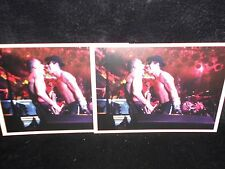 2 photo postcards RED HOT CHILI PEPPERS, Hamburg, Germany, 1992