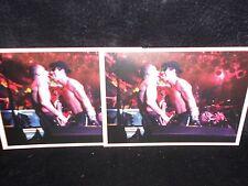 2 Foto Postkarten Red Hot Chili Peppers, Hamburg, 1992