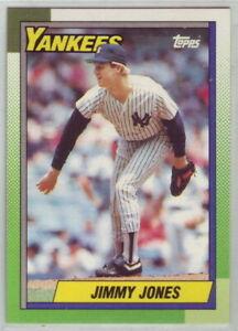 1990 Topps Baseball New York Yankees Team Set