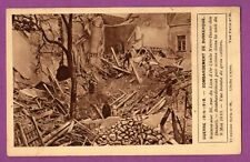 CPA - 59 -  DUNKERQUE - WWI / GUERRE 14 - 19 - BOMBARDEMENT / RUE DU LION D OR