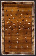 TAPPETO PERSIANO GABBEH VECCHIA MANIFATTURA ANNODATO A MANO cm. 222 x 140