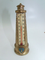 VINTAGE YARMOUTH LIGHTHOUSE THERMOMETER, T-14