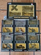 Corgi Fighting Machines WWII D-Day US German Tanks Planes 1:72 Scale Diecast Lot
