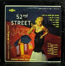 "ILLINOIS JACQUET & REX STEWART 52nd street 10"" VG+ MH-33-148 Waldorf Jazz USA"