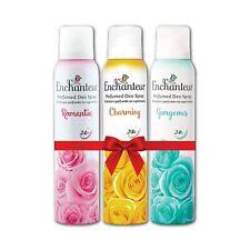 Enchanteur Romantic Charming and Gorgeous Women Perfumed Deo Spray 150ml x 3