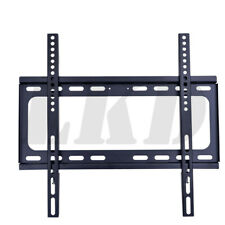 For SLIM LCD LED PLASMA FLAT TV WALL MOUNT BRACKET 26 30 32 37 42 46 47 50 52 55