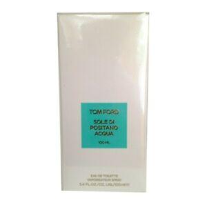 TOM FORD SOLE DI POSITANO ACQUA * 3.3/3.4 oz (100ml) EDT Spray * NEW & SEALED