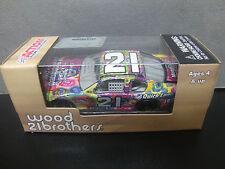 RARE Trevor Bayne 2011 Juvenile Diabetes #21 Wood Bros Ford 1/64 NASCAR