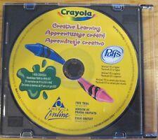 Crayola Creative Learning Cd Children Kids Art