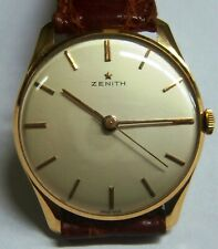 ZENITH 18K SOLID GOLD MANUAL WIND  CAL. 120  35mm. working