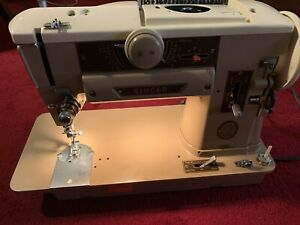 Singer 401A Slant-O-Matic Sewing Machine - For Repair - Works But Has Issues