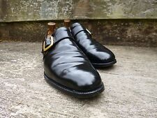 CHURCH VINTAGE MONK STRAP – BLACK - UK 9 – WESTBURY – VERY GOOD CONDITION
