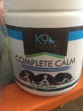 K9 Nature Supplements  Calming Soft Chews 100 soft chews