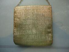 """Belina vintage gold evening bag 6.5"""" x  7"""""""