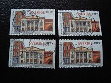 SUEDE - timbre yvert et tellier n° 2024 x4 obl (A29) stamp sweden (Y)