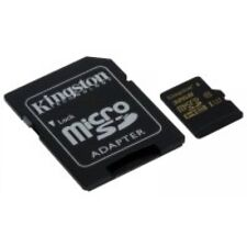 Kingston Gold MicroSD Uhs-i Speed Class 3 (u3) 32gb With SD Adapter