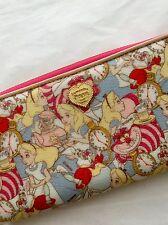 Disney Samantha Thavasa Alice in Wonderland Lge Zippy Wallet New Ships from USA