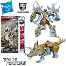 NEW TRANSFORMERS THE LAST KNIGHT DINOBOT SLUG FIERY WARRIOR PREMIER EDITION TOY