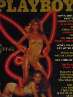 Playboy December 1976 Gala Christmas Issue | Karen Hafter     #7367