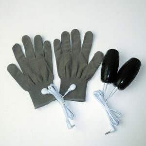 Electrotherapy Massage Conductive Grenades+Gloves For Tens/Ems Massager Device