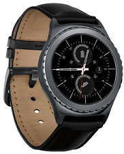 Samsung Gear S2 Black Stainless Steel Classic Buckle -Verizon - SM-R735VZKAVZW