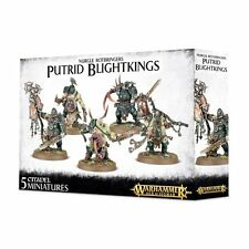 Warhammer Age of Sigmar: Nurgle Rotbringers Putrid Blightkings GWS 83-28 NIB