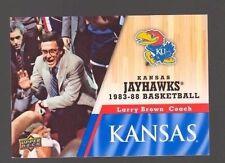 2013 Upper Deck Kansas #35 Larry Brown Jayhawks KU Basketball Rock Chalk