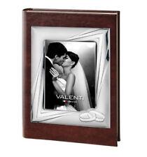 Album Fotografico di Matrimonio Nozze Nuziale In Argento Valenti 25 x 30 cm