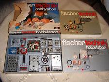 Fischertechnik Baukasten hobbylabor 1, Elektronik, OVP mit Beschreibung 288 S.--