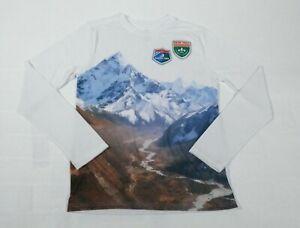 Wonder Nation Girls Glacier Park Graphic Long Sleeve T-Shirt Sz XL