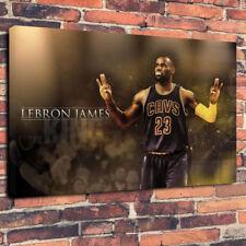 "LEBRON JAMES nba toile imprimée photo A1.30""x20"" 30 mm Deep Wall Art"