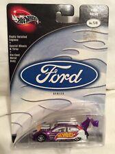 HOT WHEELS Preferred Ford Focus Ford Series No 1/4 Purple NIP